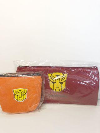 🚚 Transformers pencil case and pouch