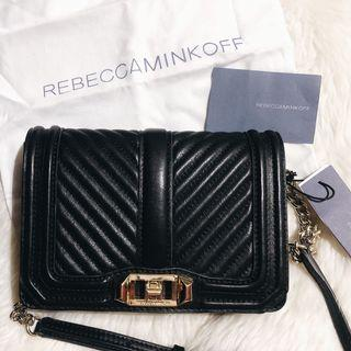 Rebecca-Minkoff 斜背包肩背包側背包 love small crossbody bag