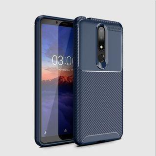 Case Nokia 3.1 Plus Softcase Nokia X3 2019 Shockproof Carbon