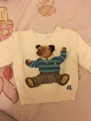 Sweater polo9成新