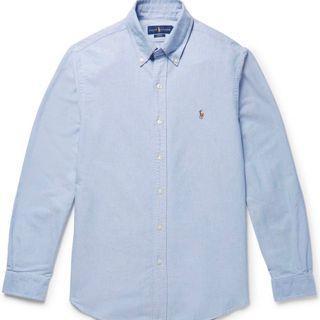 XS Polo Ralph Lauren Oxford Shirt Blue