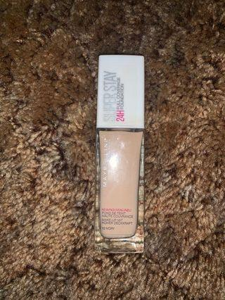 Maybelline Super Stay 24HR Foundation
