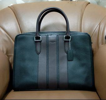 Authentic Coach Men's Bond Brief Bag Suitcases