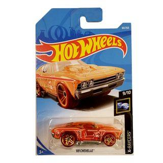 Hot Wheels - 2019 X-Raycers 9/10 '69 Chevelle 60/250 TREASURE HUNT