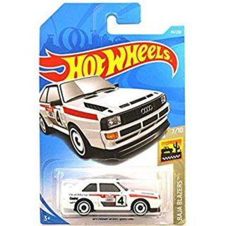 Hot Wheels 2019 Baja Blazers '84 Audi Sport Quattro 43/250, White