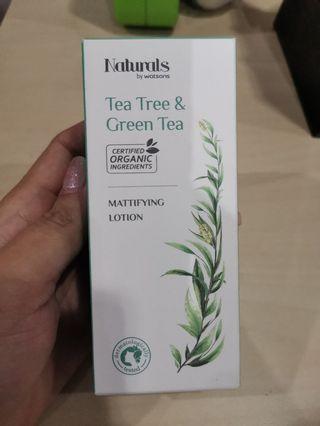 NaturalTea Tree & Green Tea Mattiflying Lotion