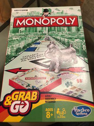 Monopoly 大富翁 100%new, not used