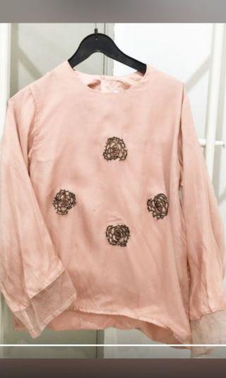 REDUCE PRICE - Organza blouse