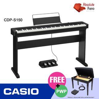Casio Music Sale @ Viva Business Park! New Casio Contemporary Digital Piano CDP S150