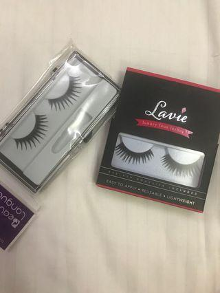 🚚 Fake lashes with adhesive