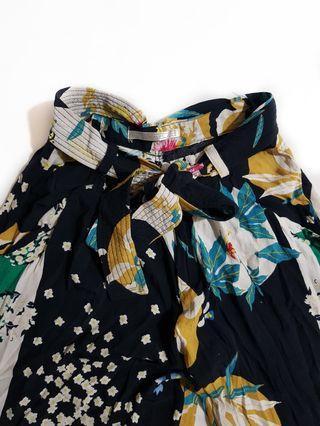 Zara floral cullotes