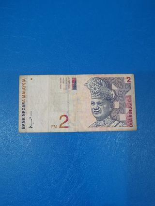 Rm2 duit lama old notes #OYOHOTEL
