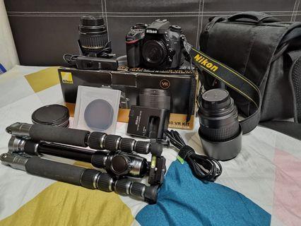 🚚 Nikon D7200 complete set + accessories