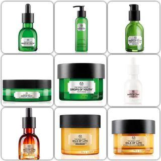 The body shop samples $10/8包