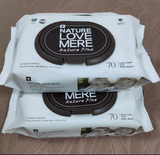 Nature Love Mere Fine Baby Wipes