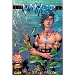 Mini-size comics Namor Giant Super Special