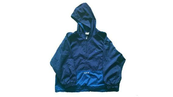 a11f4d23e VINTAGE NIKE ANORAK JACKET WITH HOODIE