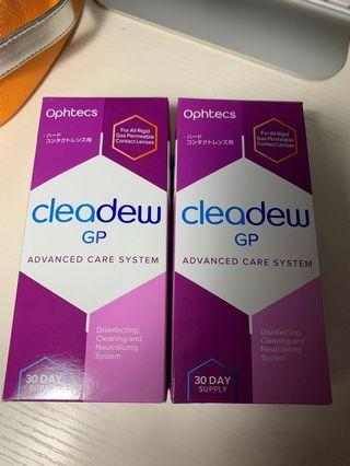 Ophtecs cleadew GP (For All Rigid Gas Permeable Contact Lenses)