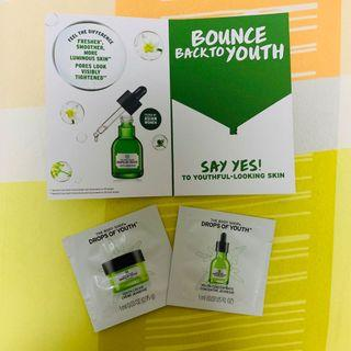 BN sample the body shop 'Drops of Youth'