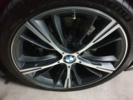 19 Bmw M4 Original Used Rim Car Accessories Tyres Rims On Carousell