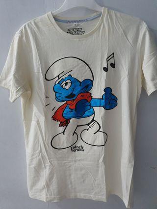 Kaos Smurf size M