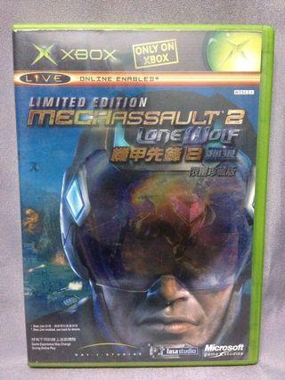 Mechassault 2 ( limited edition 2 disc ) xbox
