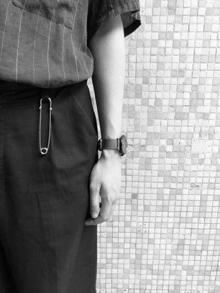 日系男裝褲飾