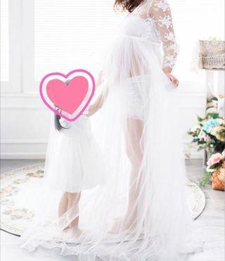 長身裙,大肚婚紗