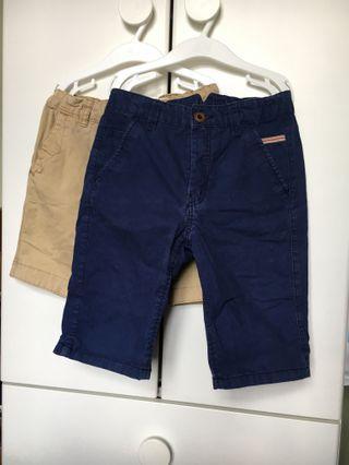 6-7 yr old bermudas 短褲