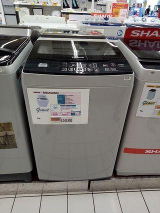 Mesin cuci panasonic top loading bisa cicilan