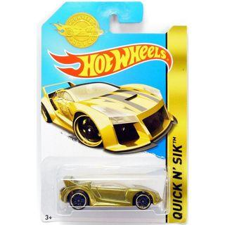 Hot Wheels Quick N Sik Gold Edition Collectibles This model is really awesome!!