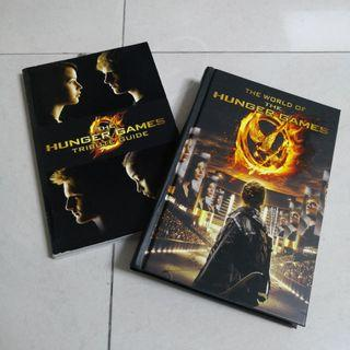 HUNGER GAMES Collectibles Hand Guide Books