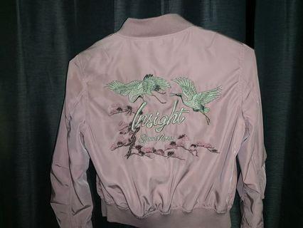 INSIGHT satin lined jacket