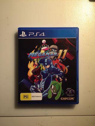 Megaman 11 PS4 Reg 4 All