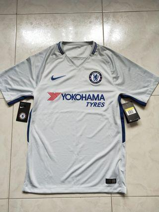 146bfaf20 Authentic Nike Chelsea FC 2017 2018 Football Away Jersey
