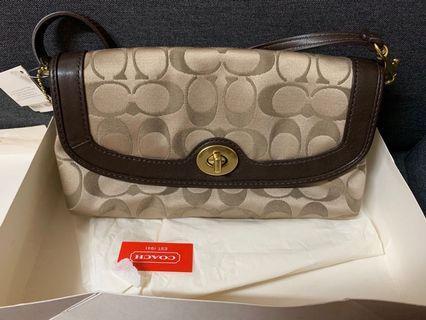 100%new n real Coach evening Handbag