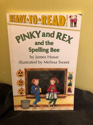 90% new Ready-to-Read : Pinky and Rex and the Spelling Bee (level 3)