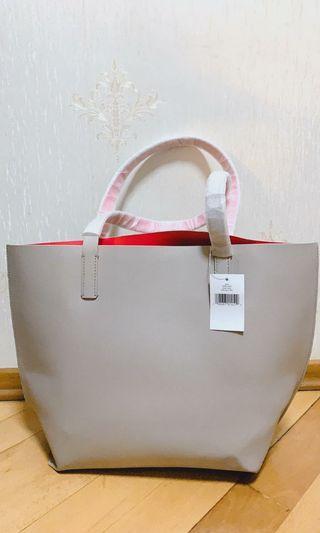 Kate Spade Foster Court Tasha Leather Tote Handbag