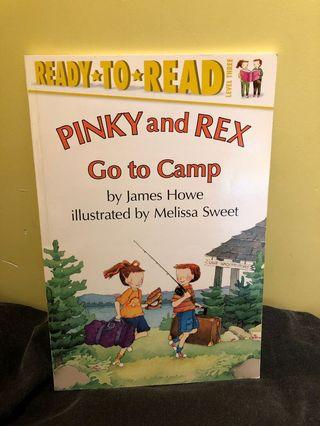 90% new Ready-to-Read : Pinky and Rex Go to Camp