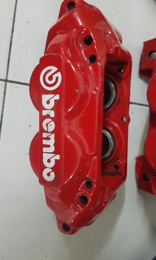 Brembo 4pot brake gm2 gm6 gk5 crz fd2