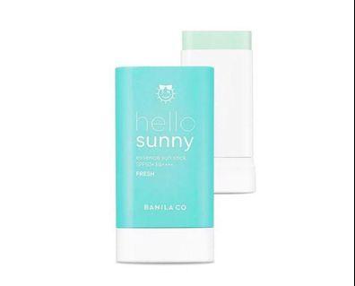 Banila Co. Hello Sunny Essence Sun Stick Fresh精華防曬棒