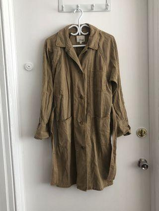 ARITZIA WILFRED SPRING TRENCH SIZE SMALL