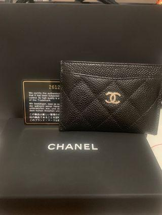 Authentic Chanel Small Card Holder