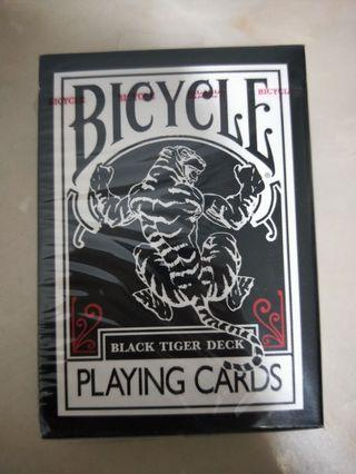 Bicycle Playing Cards ( BLACK TIGER DECK)