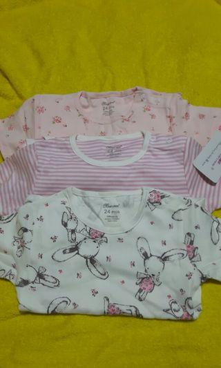 🚚 BN Baby girl rompers(blessing price)