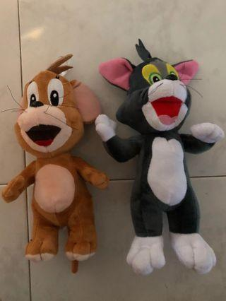 BN Tom and Jerry Soft Toy Set (FOC MAILING)