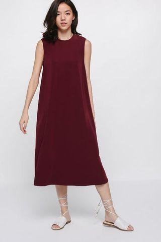 BNWT Love Bonito Ulicia Oversized Midi Dress
