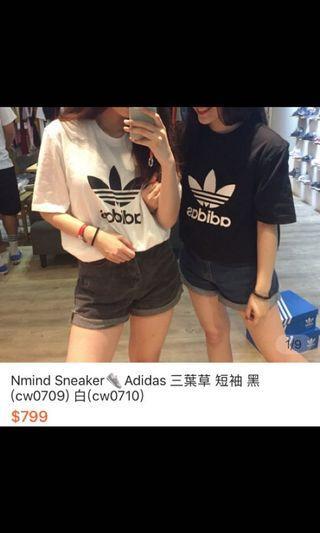 🚚 Adidas 愛迪達三葉草短袖上衣