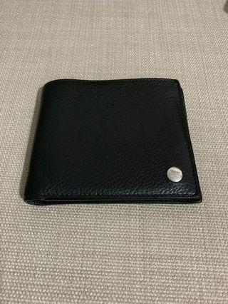 Authentic Dunhill black wallet