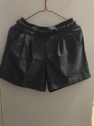 Grey Short Pants